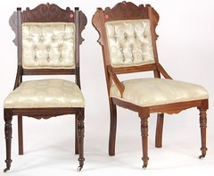 18. Pair of Victorian Parlor Chairs