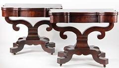 22. RARE Pr. American Classical Game Tables