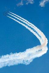 Red Arrows in a climb (lighthunter09) Tags: