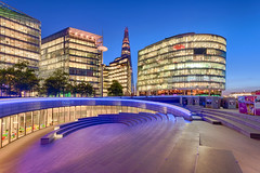 The Scoop (enfi) Tags: uk europe britain cityhall headquarters normanfoster morelondon thescoop neartowerbridge theshard southwarkbankoftheriverthames