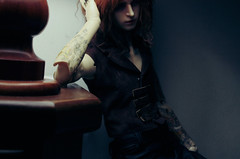 what to do now, Mr.Harlow (illusionwaltz) Tags: bjd cosmo dollzone