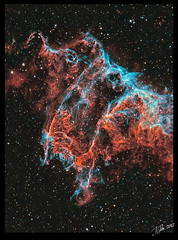 Veil_IC_1340 (J-P Metsavainio) Tags: space nebula emission veilnebula ic1340