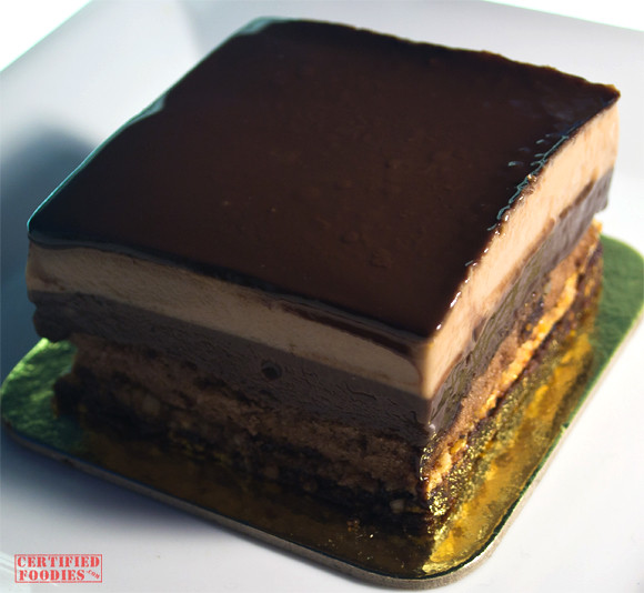Blue Toque's The Ultimate multi-layer mousse cake