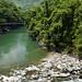 Lo stupendo colore di un fiume prima di Rio Claro