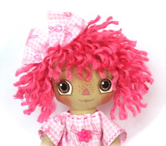 Breast Cancer Awareness Doll (janpugs) Tags: breastcancerawareness ragdoll raggedyanne raggedydoll primitiveraggedyanndoll pinkcancerawarenessribbon