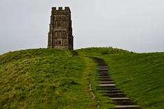 Glastonbury - Leading to the Top - 09-26-12 (mosley.brian) Tags: england tower unitedkingdom glastonbury tor glastonburytor thetor isleofavalon