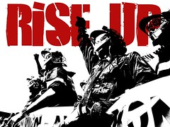 RISE UP - Fight austerity now, while you still can. (Teacher Dude's BBQ) Tags: poster eu riseup austerity posteractivism europeandebtcrisis greekeeconomiccrisis thepiigsarealright