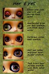 """Custom Eyechips """"Little Deer"""""""