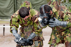 121003-A-3994P-008 (HQ Allied Rapid Reaction Corps) Tags: uk training soldier army cornwall rehearsal management situation nato decontamination nrf respirator publicaffairs rafstmawgan jointtraining cbrn chemicalsuit arrc promask natoresponseforce alliedrapidreactioncorps s10respirator exercisenobleledger arrcsptbn