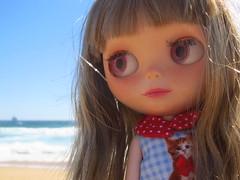 De paseo en la playa!
