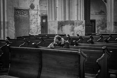 Belive, Pray, Hope. (AlanScerbakov) Tags: bw white black church hope nikon god pray n and 1855mm belive d3100 alanscerbakov