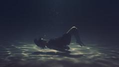 REMiniscencias (Ibai Acevedo) Tags: water girl agua chica underwater dive dream record rem fondo sueo buceo profundidad inmersion somni brevedad