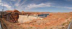 Glen Canyon Dam (gert_vervoort) Tags: travel vacation arizona panorama usa vakantie unitedstates united