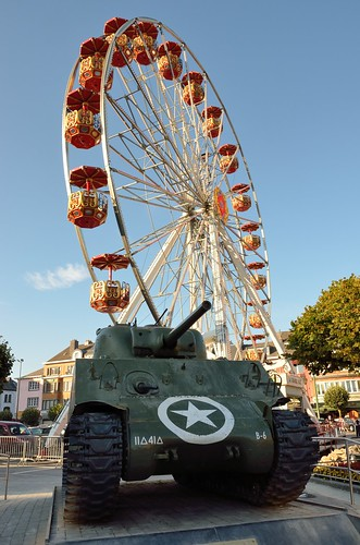 Tank and amusement ride