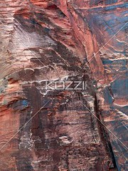 colourful rock face (ricknature8877) Tags: park cliff usa southwest color rock stone america utah rocks colorful unitedstates unitedstatesofamerica rockface erosion national limestone northamerica zion geology fracture steep