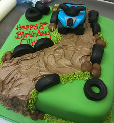 Quad Bike Birthday Cake