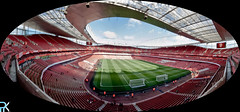 Emirates Stadium (PrK |photography) Tags: england panorama london canon football wideangle emirates arsenal emiratesstadium londonstadium