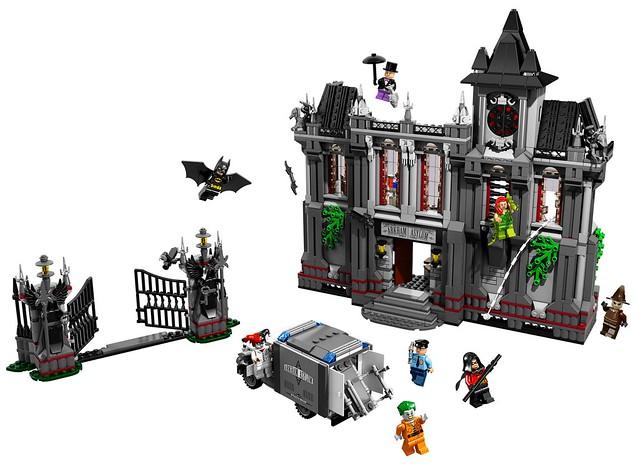 LEGO - 蝙蝠俠系列10937「阿卡漢療養院」