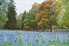 Lest We Forget (jprossler) Tags: world autumn 2 war day remember cemetary graves we poppy ww2 remembrance veterans forget lest
