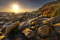 Kogel Bay stream (Dawie Malan) Tags: seascape bay town stream cape d800 kogel
