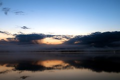 _MAD2144 (le Brooklands) Tags: sunset reflection clouds labrador nl nuages labradorcity reflection levedusoleil littlewabushlake