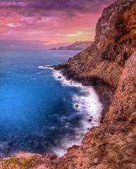 Mahinanui (mikeSF_) Tags: ocean sunset cliff seascape mike sunrise landscape photography hawaii rocks long exposure waves pacific pentax united sigma maui shore states 1020 hdr k5 kahuku oria photomatix tonemapped tonemapping kahakuloa mahinanui httpmikeoriazenfoliocom