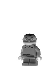 ralph (jooka5000) Tags: blackandwhite bw monochrome toys photography shadows lego profile donut series thesimpsons concept minifigs minimalism simpson rushing toyphotography 71016