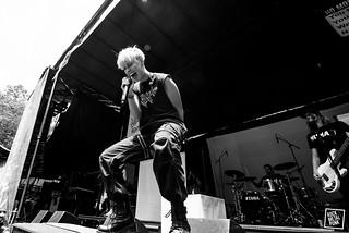 16.07.16 - Tonight Alive - Vans Warped Tour Columbia // Shot by Jake Lahah