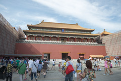 Palace Museum - Beijing (Tony Shi, Life) Tags: china travel architecture buildings forbiddencity tiananmensquare tiananmen touristattraction bejing palacemuseum traveldestinations famousplace