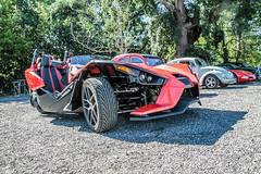 Slingshot (xwattez) Tags: polaris slingshot tricycle car vhicule transports rassemblement automobile sesquires toulouse france 2016