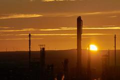 Photo of Sunset over Grangemouth