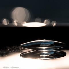 glassy sunset (is.hollmann) Tags: magnifyingglass vergrserungsglas macromondays macro makro glas spiegelung inthemirror wow