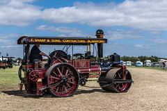 Burrell Steam Roller (john_spreadbury) Tags: nikond500 nikon steam engine steamengine johnspreadbury southcerneyairfield rally cars motorbikes lorrys bikes bicycles people sigma lenses 1020sigma 1770sigma digital classic classicbikes american burrell steamroller