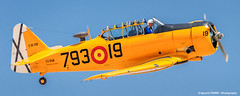 Spanish T-6 (Ignacio Ferre) Tags: fio fundacininfantedeorleans madrid cuatrovientos lecu spain espaa northamericant6 t6 texan spanishairforce military nikon aircraft airshow airplane avin avioneta aviation amarillo yellow
