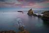 Le rocher de la Vierge (JMS') Tags: paysage océan paysbasque basque biarritz atlantique france soleillevant rocherdelavierge poselongue leefilters lee longexposure seascape landscape littlestopper nd gnd canon beach water sky nature