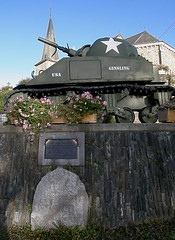 Tank War memorial, Wibrin (billpolley) Tags: wibrin belgium ustank warmemorial