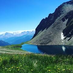 Lago di Licony, Colle di Licony (Walking_Photography) Tags: lagoalpino trekking valledaosta montebianco panorama