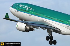 Airbus A330 Aer Lingus (Ana & Juan) Tags: airplane airplanes aircraft aviation airport aviones aviacin airbus a330 aerlingus takeoff departure spotting spotters spotter canon closeup planes eidw dublin dub ireland