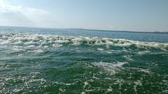 Lake Constance (Debarshi Ray) Tags: germany lake constance water waves blue sky summer motorola motog green