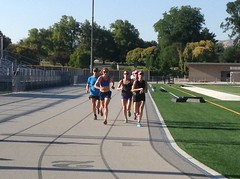 Highland High track workout