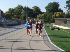 Highland High track workout