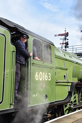 Waiting for the Off (again) (simmonsphotography) Tags: nenevalley railway railroad locomotive engine train preserved preservation gala heritage steam uksteam a1 peppercorn pacific 60163 tornado