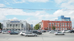 Novosibirsk. August 2016 (nikolasrybin) Tags: russia august summer siberia traveling novosibirsk urban street 2016 architecture olympus pen epl3