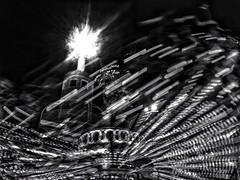 Mysterious carousel (pablokhlebnikov1) Tags: madewithiphone mobileshot mobilephoto childhood spain barcelona snapseed shadows flickrheroes lights blancoynegro bw blackandwhite hdrnight hdr mysteriouscarousel mysterious carousel