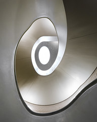 Pearlescent (mcb photography) Tags: pearlescent spiral curve helix helical line shape stair staircase oval sweep shine glow metallic modern newportstreet london england mikebarber mcbphotography wwwmcbphotographycouk swirl