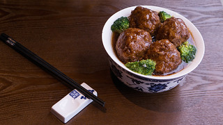 Steamed Lion Head Meatball