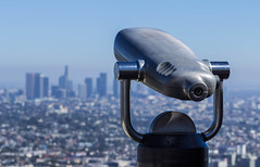View From Atop (gerardnastor) Tags: cityscape architecture losangeles observatory city sky blue telescope travel outdoor