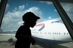 RIP, Joe Sutter (krameroneill) Tags: 747 airport jfkairport nyc newyork usa childhood silhouette fujifilm xpro 2016