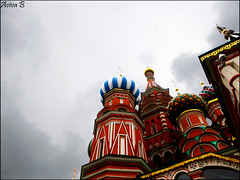 Saint Basil's Cathedral (Aviva B) Tags: moscow city architecture russia russian 2016 saint basils cathedral vasily blessed red square intercession most holy theotokos moat ivan terrible barma postnik yakovlev kremlin unesco world heritage site