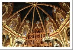 Detalles Iglesia de San Pedro - Teruel (Lourdes S.C.) Tags: cpulas iglesias vidrieras retablo iglesiadesanpedro teruel